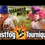 スト5 Justfog vs Tourniquet Justfog(Ryu) vs Tourniquet(Poison) SFV
