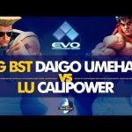 CYG BST Daigo Umehara (Guile) VS LU Calipower (Kage) – EVO 2019 Top 128 – CPT 2019